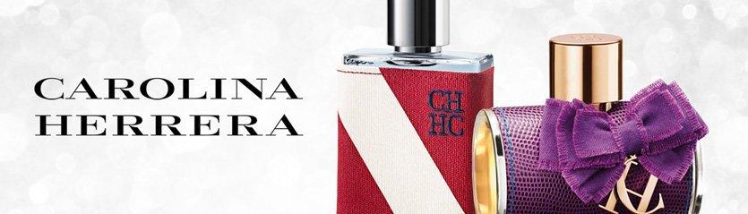 CH Carolina Herrera Perfume Brand Banner
