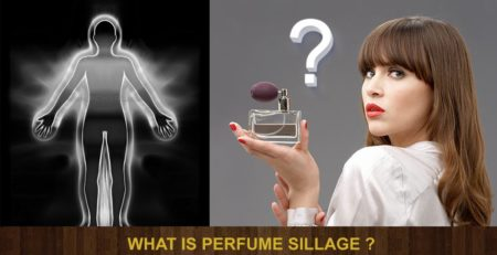 What is perfume sillage